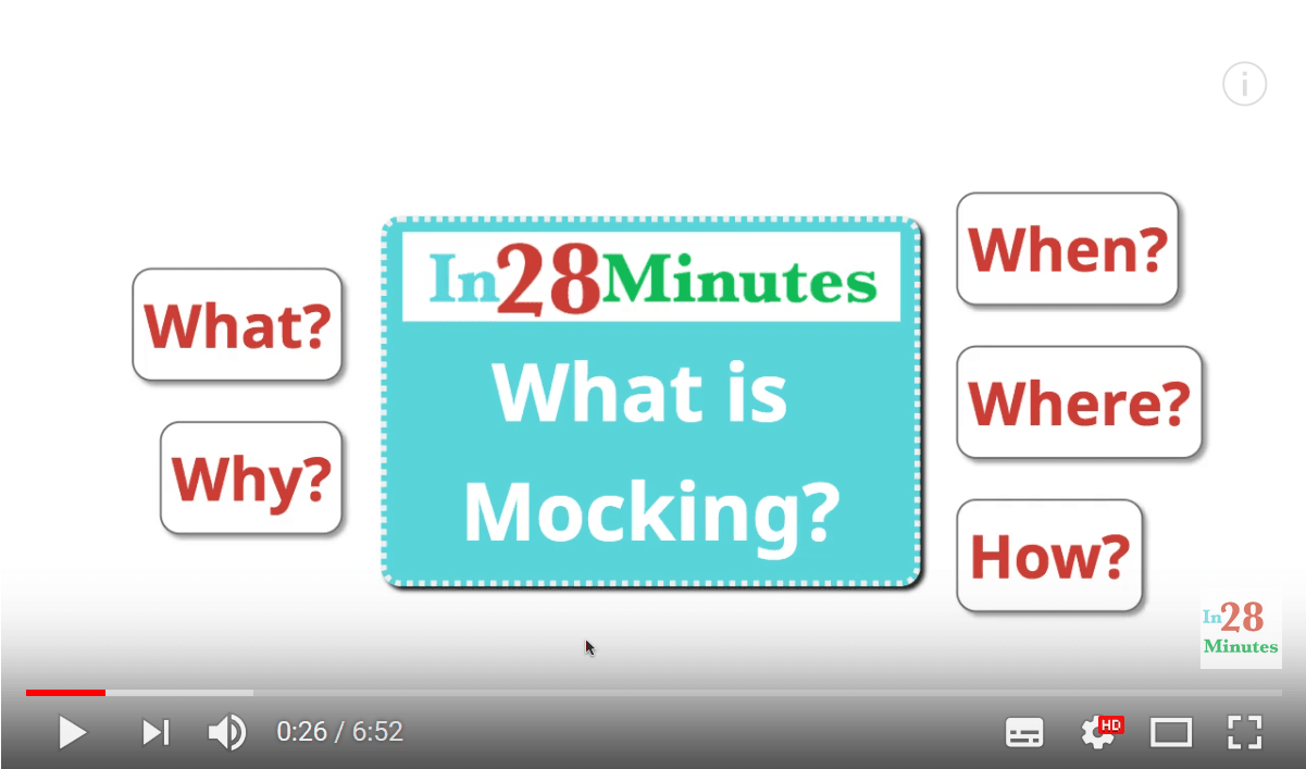 Programming Basics - Unit Testing - What Is Mocking