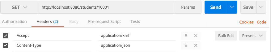Spring Boot and Content Negotiation - XML and JSON Representations