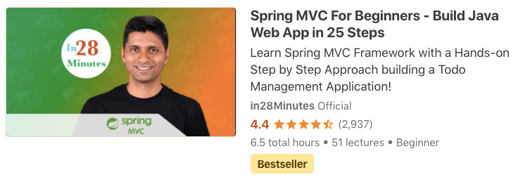Spring MVC Tutorial for Beginners - in