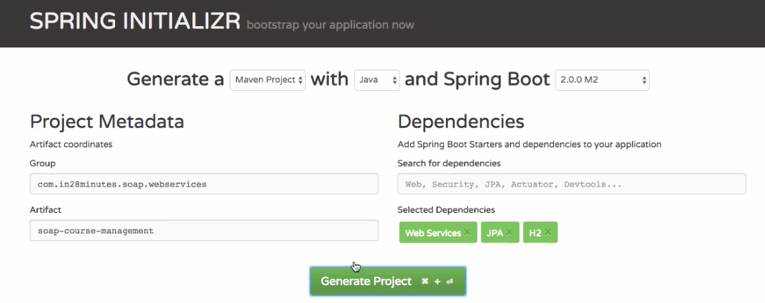 Spring Boot SOAP and RESTful Web