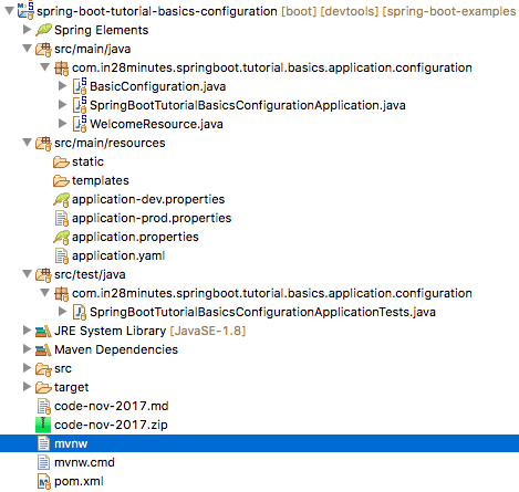 Application Configuration with Spring Boot – Spring Boot