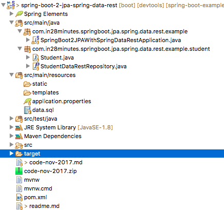 Introduction to Spring Data Rest - Create RESTful APIs at F1
