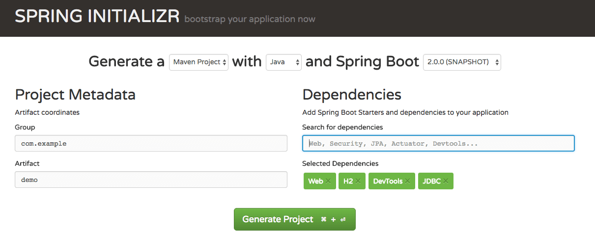 Spring Boot and Spring JDBC With H2 - DZone Java